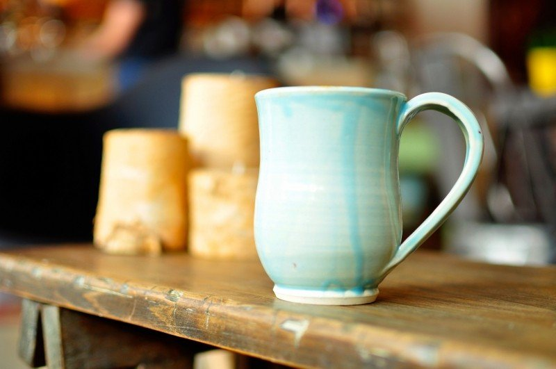 Handmade ceramic pottery